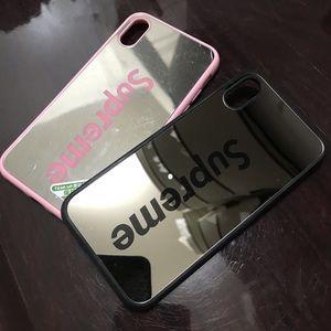 2X HD mirror case back shockproof hard case